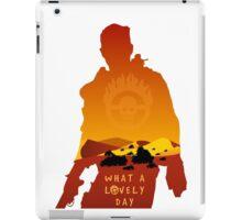 Mad Max Minimalist iPad Case/Skin