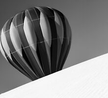 Uphill from there B&W version by Mitchell Tillison