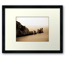The other side of the Needles!  Framed Print