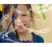 The timeless joy of bubbles Photographic Print