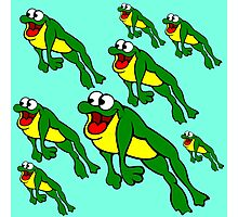 Leap Frogs Photographic Print