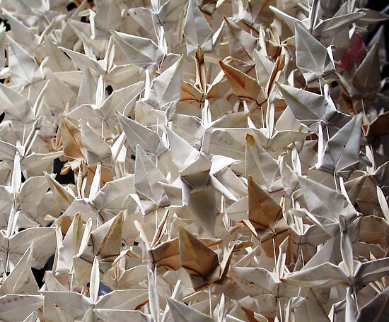 1000 Origami Cranes  by nadinecreates
