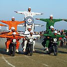 Motorcyclists thrill at Kila Raipur by RajeevKashyap