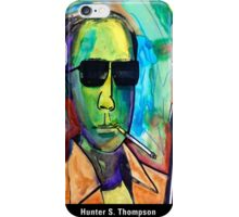 Hunter S. Thompson iPhone Case/Skin