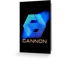 Cannon Logo Greeting Card