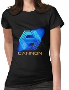 Cannon Logo Womens Fitted T-Shirt