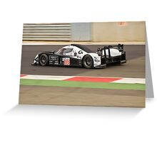 Signature Plus Lola Aston Martin Greeting Card