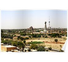 Baghdad Clock Tower Poster