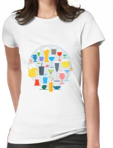 Time to Drink Womens Fitted T-Shirt