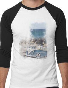 Splitty Beach Men's Baseball ¾ T-Shirt