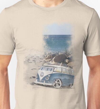 Splitty Beach Unisex T-Shirt