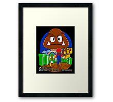 Mushroom never changes. Framed Print