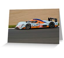 #007 AMR Lola Aston Martin Greeting Card