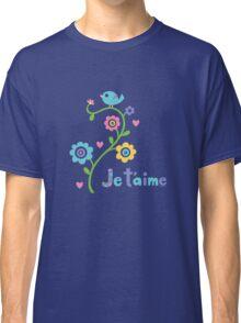 je t'aime - i love you - lights Classic T-Shirt