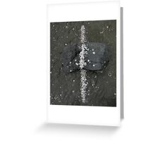 Counter Forces Greeting Card