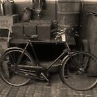 The old Raleigh Bike, Circa 1913 by GEORGE SANDERSON