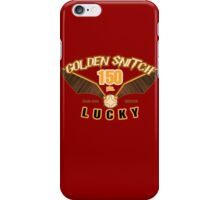 Golden Snitch - Lucky 150 pts. iPhone Case/Skin