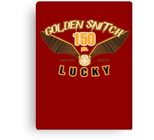 Golden Snitch - Lucky 150 pts. Canvas Print