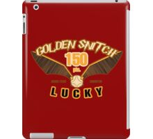 Golden Snitch - Lucky 150 pts. iPad Case/Skin
