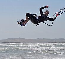 kitesurfing F16 by Matthew Lea
