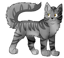 Graystripe from Warriors by Aztael