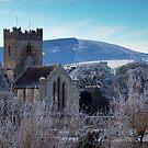 St. Flannan's Cathedral in winter, Killaloe, Ireland by Orla Flanagan