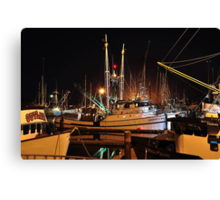 Crescent City Harbor Canvas Print