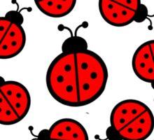 Ladybird, Picnic Sticker