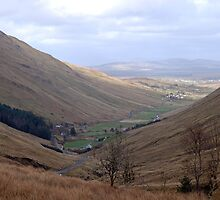 Rugged Glengesh Pass, Co Donegal, Ireland by Orla Flanagan