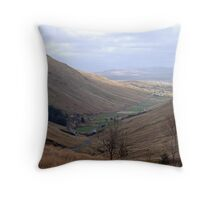 Rugged Glengesh Pass, Co Donegal, Ireland Throw Pillow