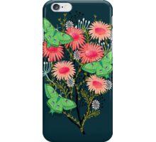 Luna Moth Florals by Andrea Lauren iPhone Case/Skin