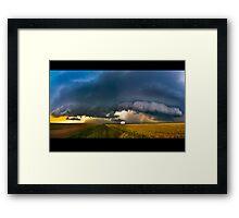 Storm Chased Framed Print