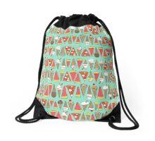 treats mint Drawstring Bag