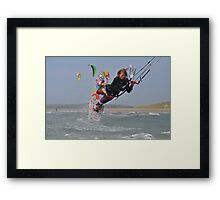 Raley to Blind. Framed Print