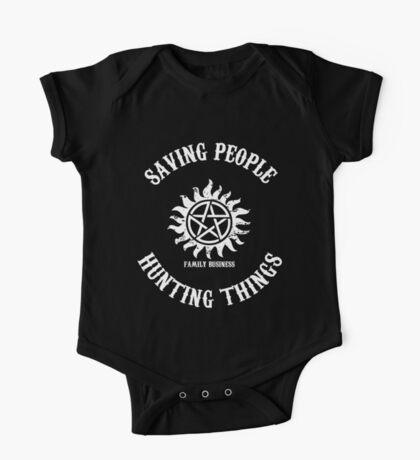 Saving People Hunting Things One Piece - Short Sleeve