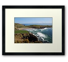 Surf's up - Tralor Beach, Co Donegal Framed Print