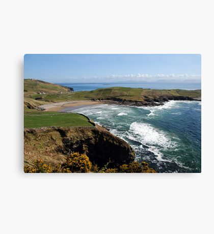 Surf's up - Tralor Beach, Co Donegal Canvas Print