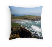 Surf's up - Tralor Beach, Co Donegal Throw Pillow