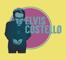 Pink And Blue Elvis Costello Kids Clothes