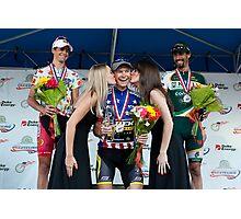 Ben King wins USA Cycling Championship. Photographic Print