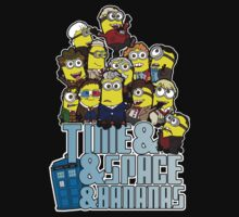 Time and Space and Bananas Kids Tee