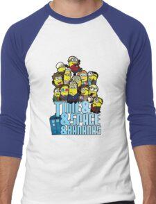 Time and Space and Bananas Men's Baseball ¾ T-Shirt