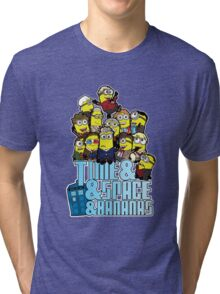 Time and Space and Bananas Tri-blend T-Shirt