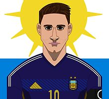Messi by Astvdillo
