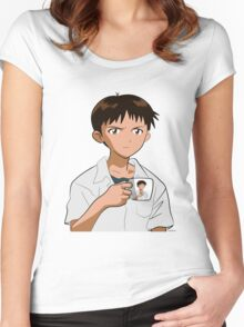 Shinjiception Women's Fitted Scoop T-Shirt