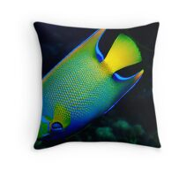 The Queen of the Sea Throw Pillow