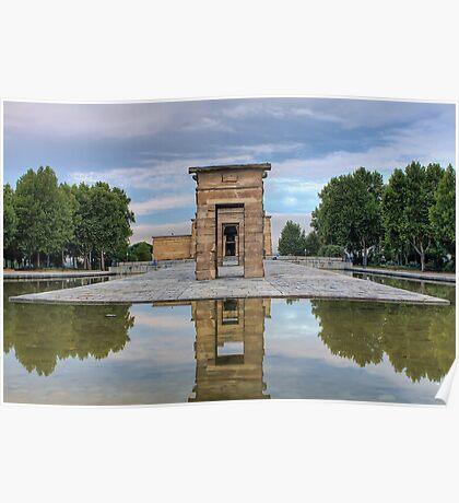 Templo de Debod, Madrid Poster