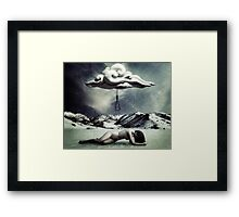 Open your eyes, there's so much life to be lived. Framed Print
