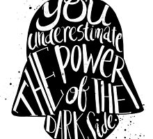 Star Wars Inspired Darth Vader Typography Quotes by ploveprints