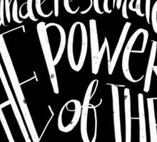 Star Wars Inspired Darth Vader Typography Quotes Sticker